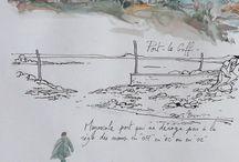 carnet de voyage / Urban sketch