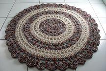 Tapetes de crochê / Modelos encontrados no pinterest