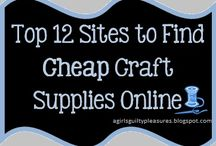 MAKE THIS: Craft Shopping / Where to get all the craft & sewing goodness!