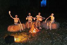 camping halloween