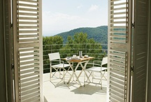 Perfect patio cafe sets / Outdoor seating for two, great for small outdoor decks