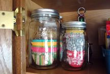 Lots of BALL JARS...