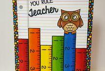 Открытки учителям
