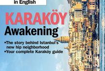 Time Out Istanbul (in English) covers 2015
