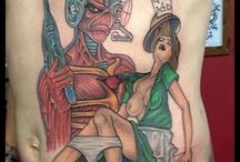 Rock n roll tattoos