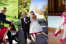 El cancán de novia / vestidos de novias con el cancán de colores