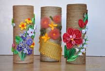 quilling váza