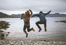 Trey and Brooke- hiking photoshoot