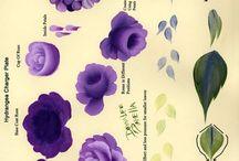El boyama çiçek