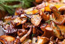 Chanterel mushrooms