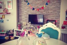 En hayal craftroom / Craft and decoration