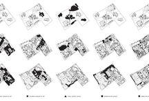diagramas / collection of architectural diagrams