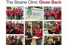 The Sloane Clinic's Charity Focus / At The Sloane Clinic, we believe that true beauty comes from within, and we hope that the beauty we love can become the good we do. Our team supports various charitable organizations in a variety of ways, be it sponsoring products or conducting silent auctions where all proceeds go towards the cause. Visiting different institutions to share our joy during major festive seasons has been important regular events on our calendar as well.