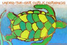 art underwater animals / teaching art