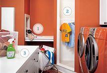 The laundry room / by Melissa Stoel