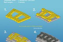 Lego train.