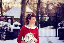 Mariées d'hiver en gilet