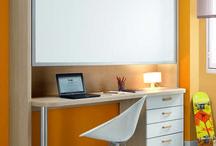 Habitaciones con poco espacio / Muebles para habitaciones con espacio reducidos