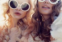 Skybar Fashion Show / Dreamy hazy pastels, glitter, daisies, roses, and other florals, romantic