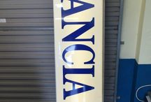 VINTAGE GARAGE ADVERTISING LIGHT UP SIGNS / Visit our website to see our full range of automobilia. Stock changes regularly, so check back for new products: http://mattsautomobilia.co.uk/new