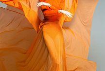 The Inspirational Orange Dress