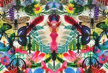 Prints / Fabrics / Textiles / Interior / Design / Colours / Pattern / Wallpaper / Curtains