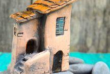 huisjes keramiek