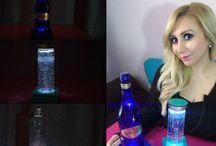 DIY Led Lighted  Bottle Lamp / Led Flashenlampe / Led Işıklı Şişe Lamba