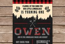 ·Lumberjack Party· / Inspiration for Oliver's 1st Birthday! It was great!