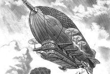 Steampunk Airships