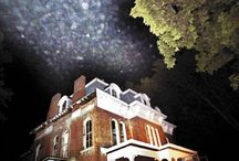 Ghouls and Ghosts / Paranormal enthusiasts call Alton, 'The most haunted city in America' due to haunted buildings built from the stone of the old Civil War prison. Haunts, Halloween ideas and freaky Alton frights found here!