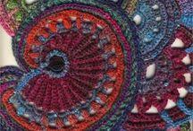 Crazy crochet, crochet