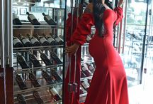 Dress in Red for The Holiday / The Color Red is a known as a Great Color Choice for the Holidays .... The Elise Dress Available at House of Tinks