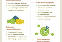 Infographica: Content Africa / Infographic's about content marketing and all things digital about the African Continent.