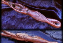 Magic Wands by FableBlades / Magic wands pagan wicca witchcraft occult harry potter Craft by Brendan Olszowy
