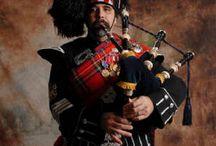 Tartans and Plaids / Scottish National Dress - kilts, tartans, sporrans and more