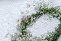 veil, wreath, hair