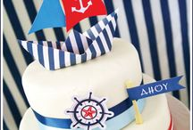 "Pirate Cake & Party / ""Ahoy there me hearties!""  - Pirate cakes to satisfy any would be pirate (or pirate- ess) great ideas for plenty of party ""swash and buckle""  :)"