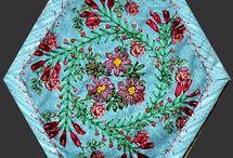 Embroidery: My Silk Hexie Ideas / by Eddi Miglavs