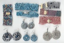 Jewellery / Examples of crafts made from our Wholesale craft supplies.