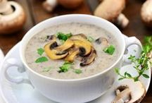 potage ( champignons )