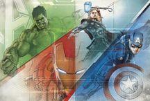 Marvel Avengers Behang