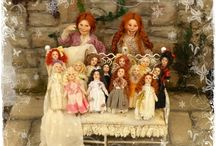 Tiny Dollies Collection / tiny dollies for 1/12 scale little girls