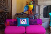 Mexican livingroom
