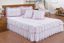 postel výzdoba