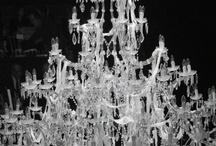 Chandeliers / I just adore chandeliers... especially crystal ones...