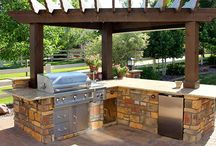 Outdoor Living Spaces! / Adding an outdoor kitchen or seating area will enhance your lifestyle and value of your home