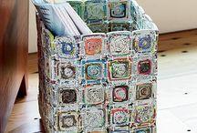 Paperin kierrätys  ( recycled paper )