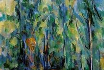 Cezanne  tájkép