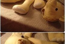 medvedík - postup šitia